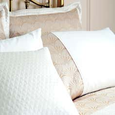 Gold Gatsby Collection Square Cushion