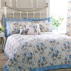 Blue Layla Collection Bedspread