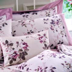 Pink Layla Collection Oxford Pillowcase