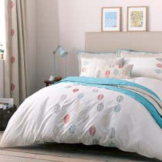 Teal Scandi Collection Duvet Cover