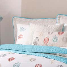 Teal Scandi Collection Housewife Pillowcase