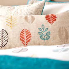 Teal Scandi Collection Boudoir Cushion