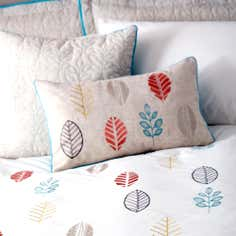Teal Scandi Collection Square Cushion