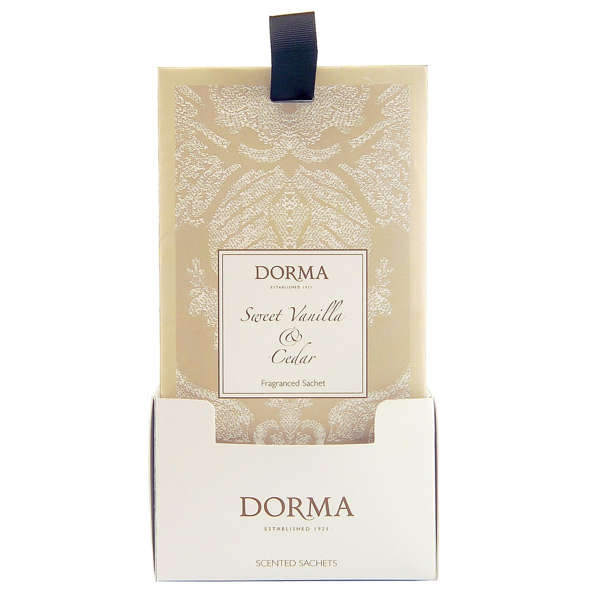 Dorma Sweet Vanilla and Cedar Scented Sachet