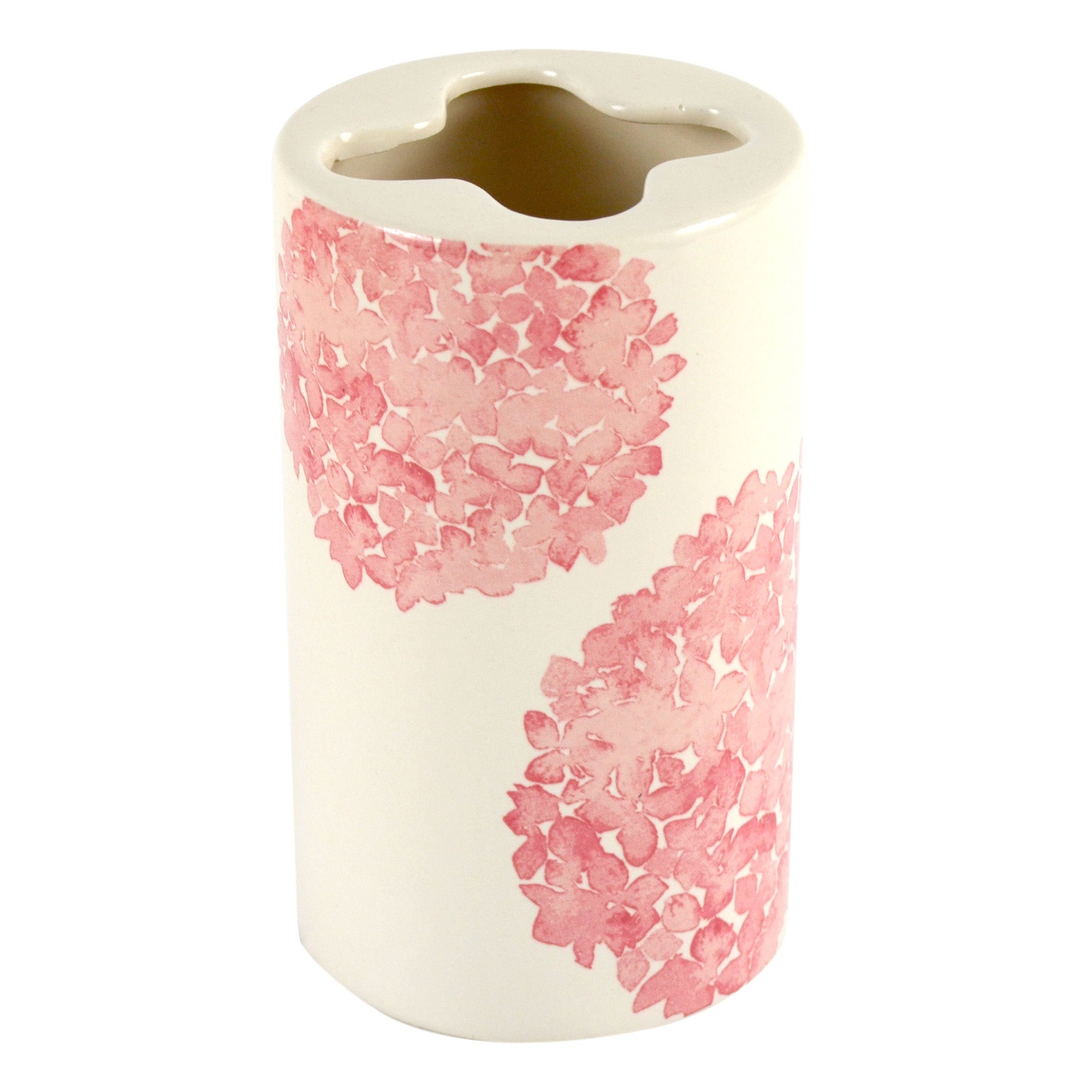 Cream Hydrangea Collection Toothbrush Holder