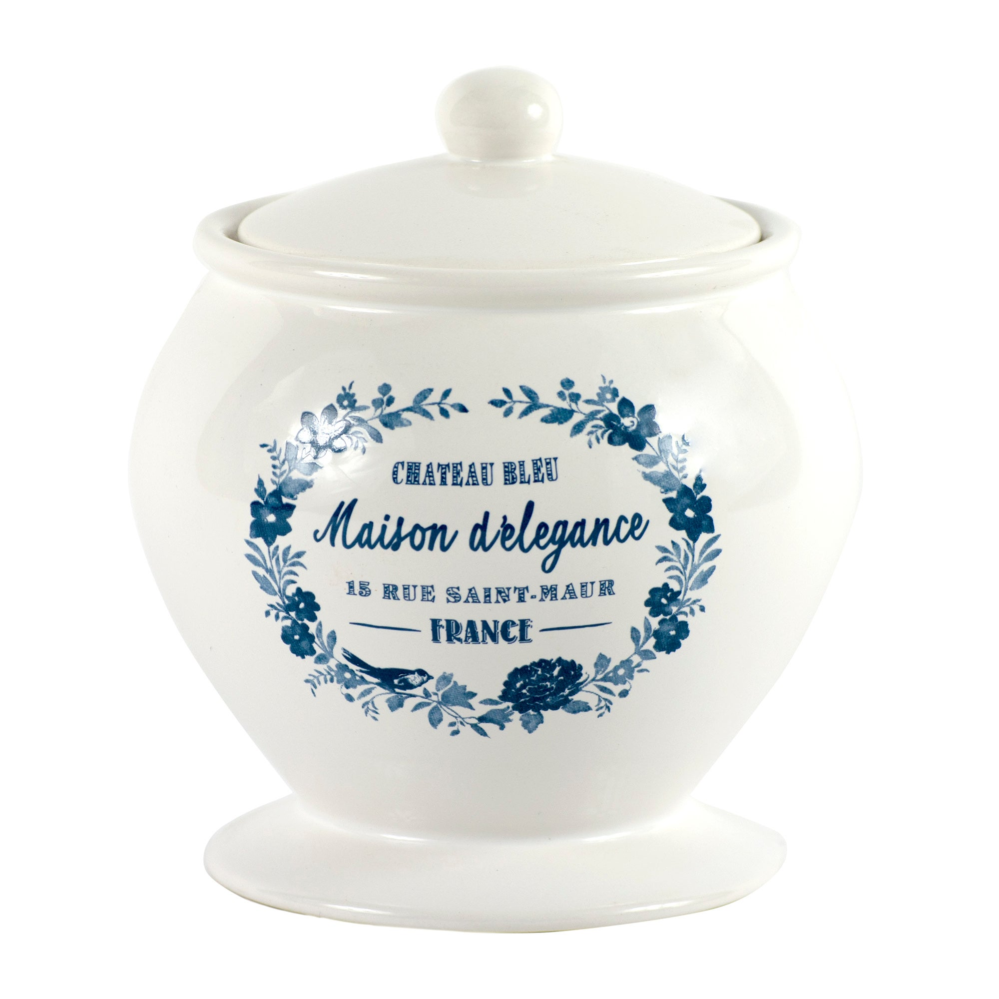 Chateau Bleu Collection Trinket Pot