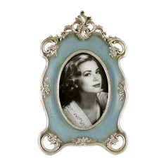 Blue Chateau Ornate Photo Frame
