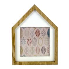 Cosy Skandi Wooden House Photo Frame