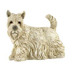 Farmstead Collection Cream Scottie Dog