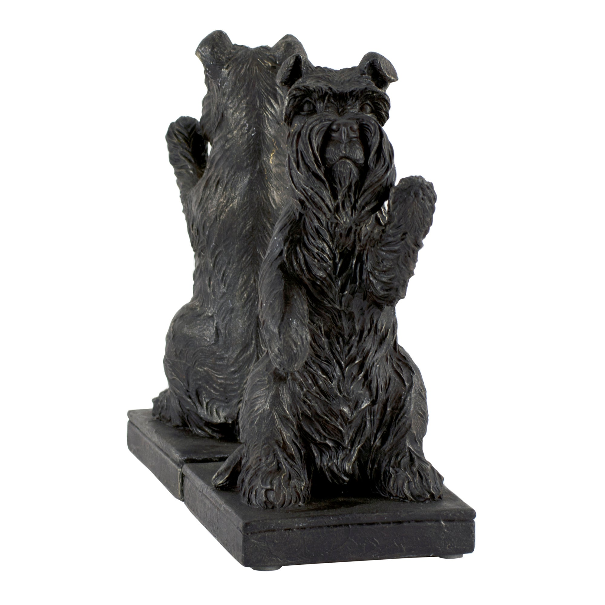 Farmstead Collection Black Scottie Dog Bookends
