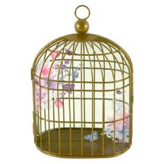 Flora and Fauna Collection Birdcage Mirror
