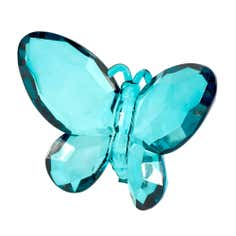 Flora and Fauna Collection Teal Butterfly