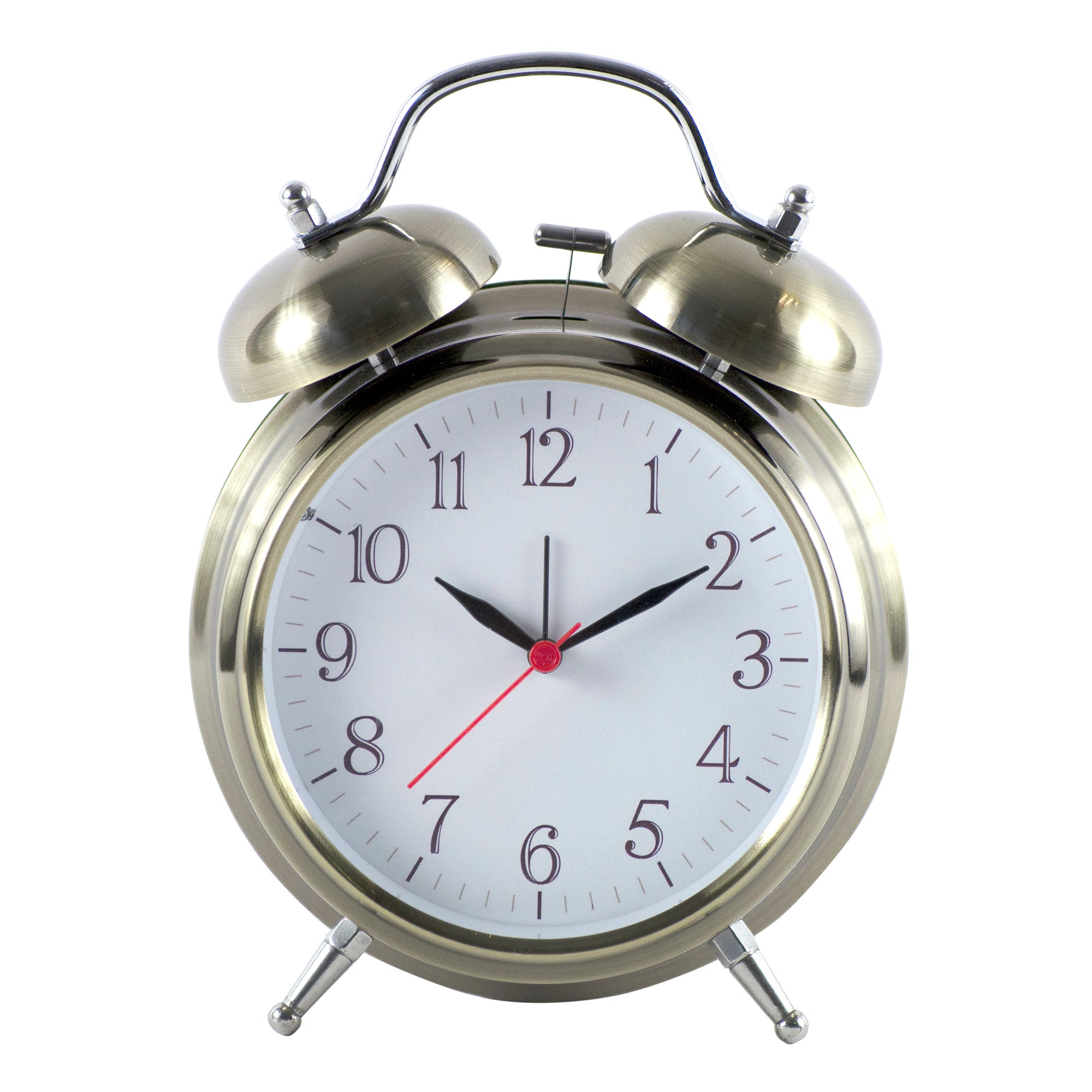 Rustic Ramble Collection Brass Alarm Clock