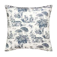 Blue Chateau Cushion