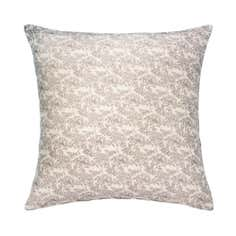Natural Toile Cushion