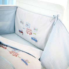 Kids All Aboard Collection Coverlet and Bumper Set