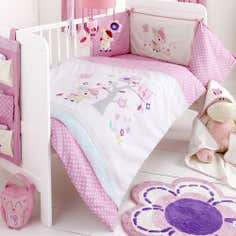 Kids Darling Deer Collection Cot Bed Duvet Set