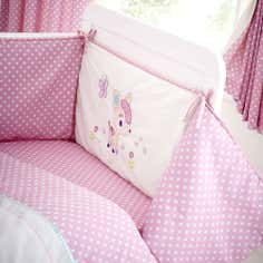Kids Darling Deer Collection Coverlet and Bumper