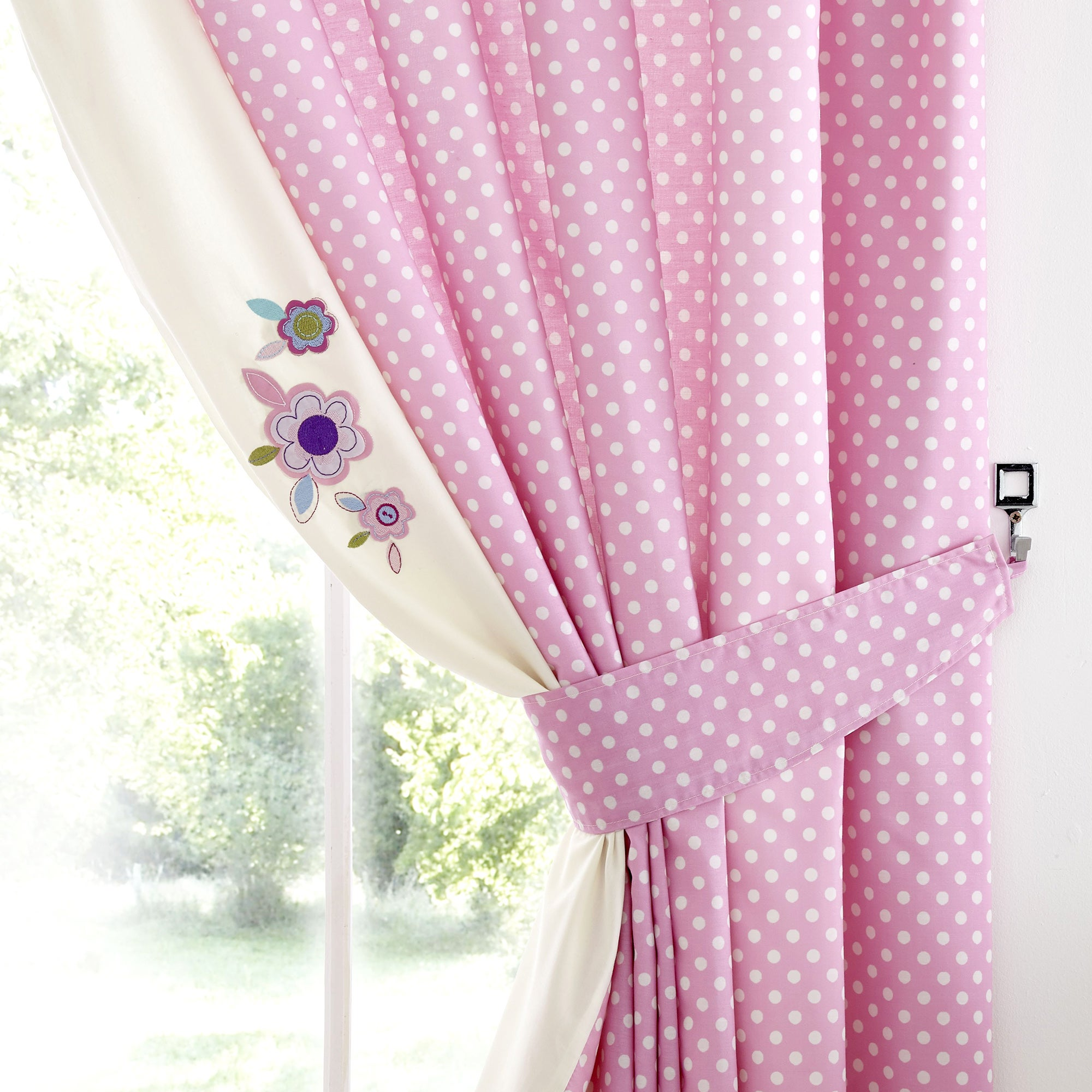 Kids Darling Deer Blackout Pencil Pleat Curtains
