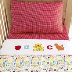 Kids Loveable Letters Collection Cot Bed Duvet Set