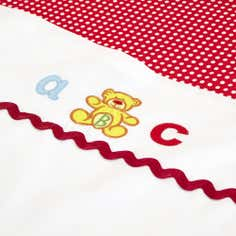 Kids Loveable Letters Collection Flat and Fitted Sheet Set