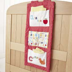 Kids Loveable Letters Cot Tidy