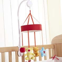 Kids Loveable Letters Collection Cot Mobile