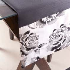 Black Emily Table Runner