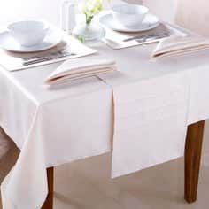 Faux Silk Tablecloth