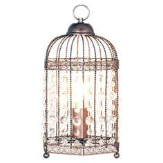 Birdcage Twist Frame Table Lamp