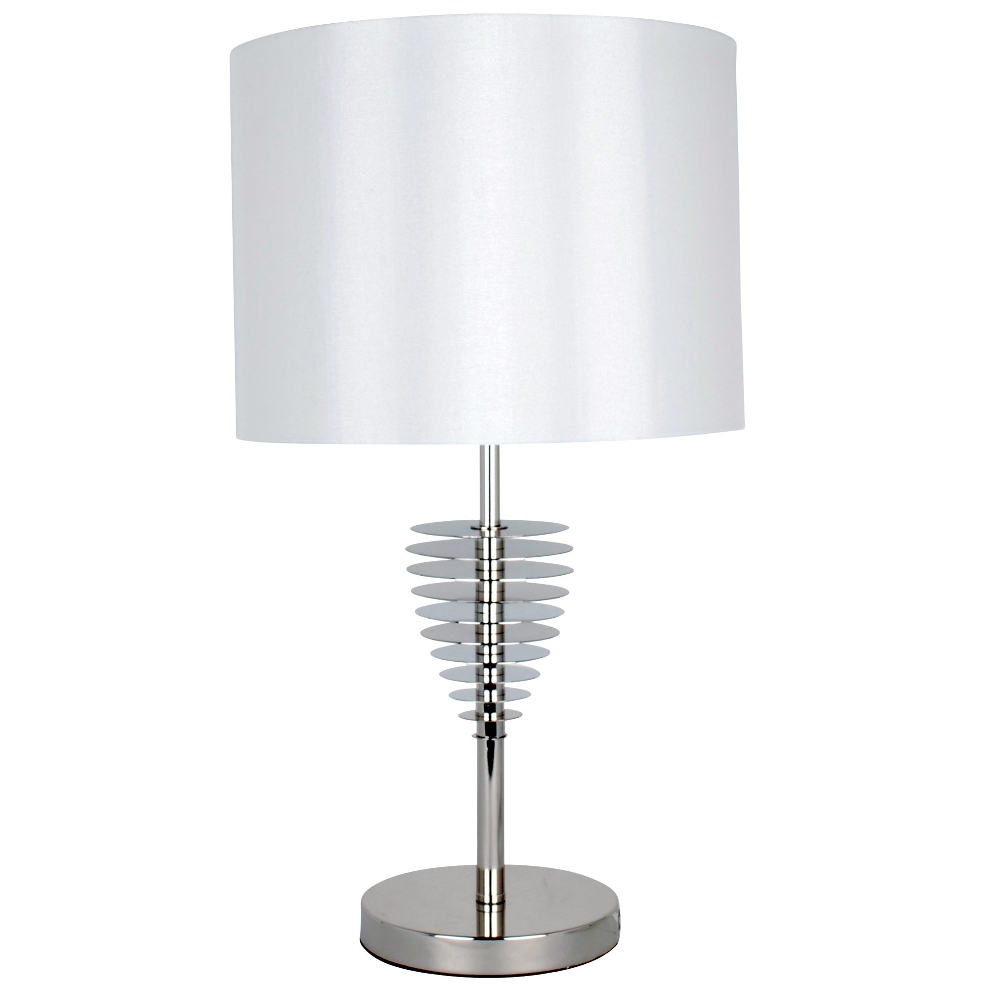 Hotel Metal Disc Table Lamp