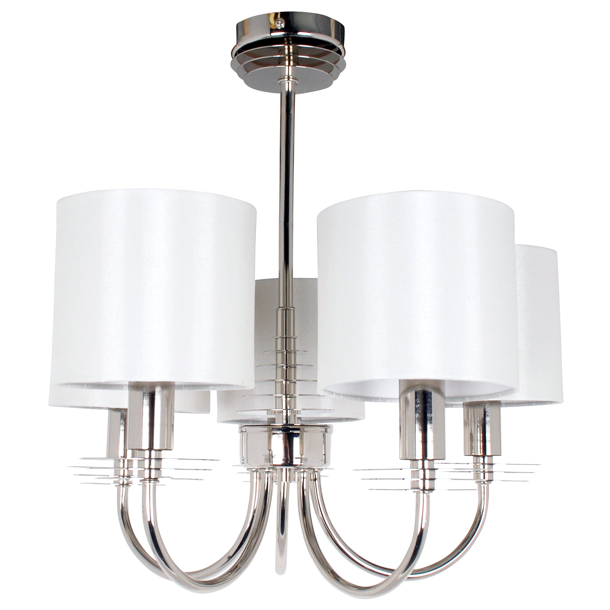 Hotel Metal Disc 5 Light Fitting