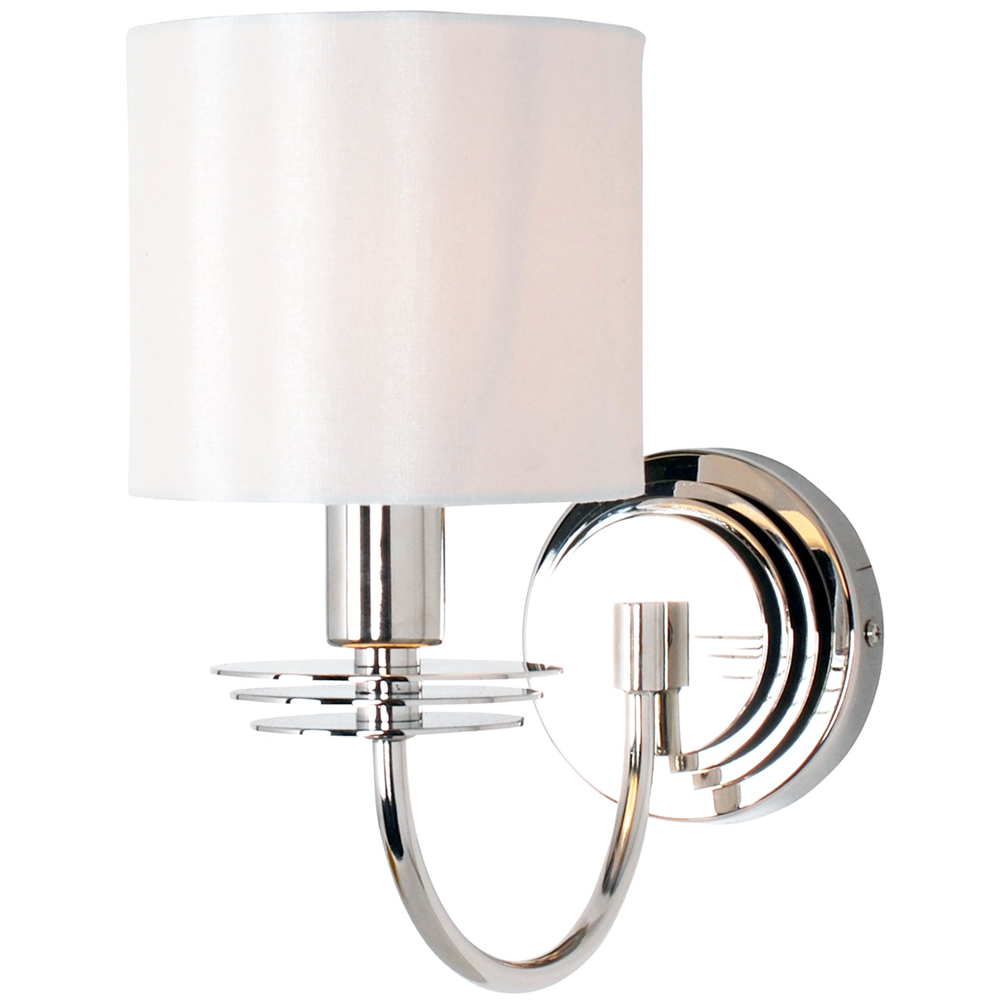 Dunelm Mill Wall Lamps : Hotel Metal Disc Wall Light Dunelm