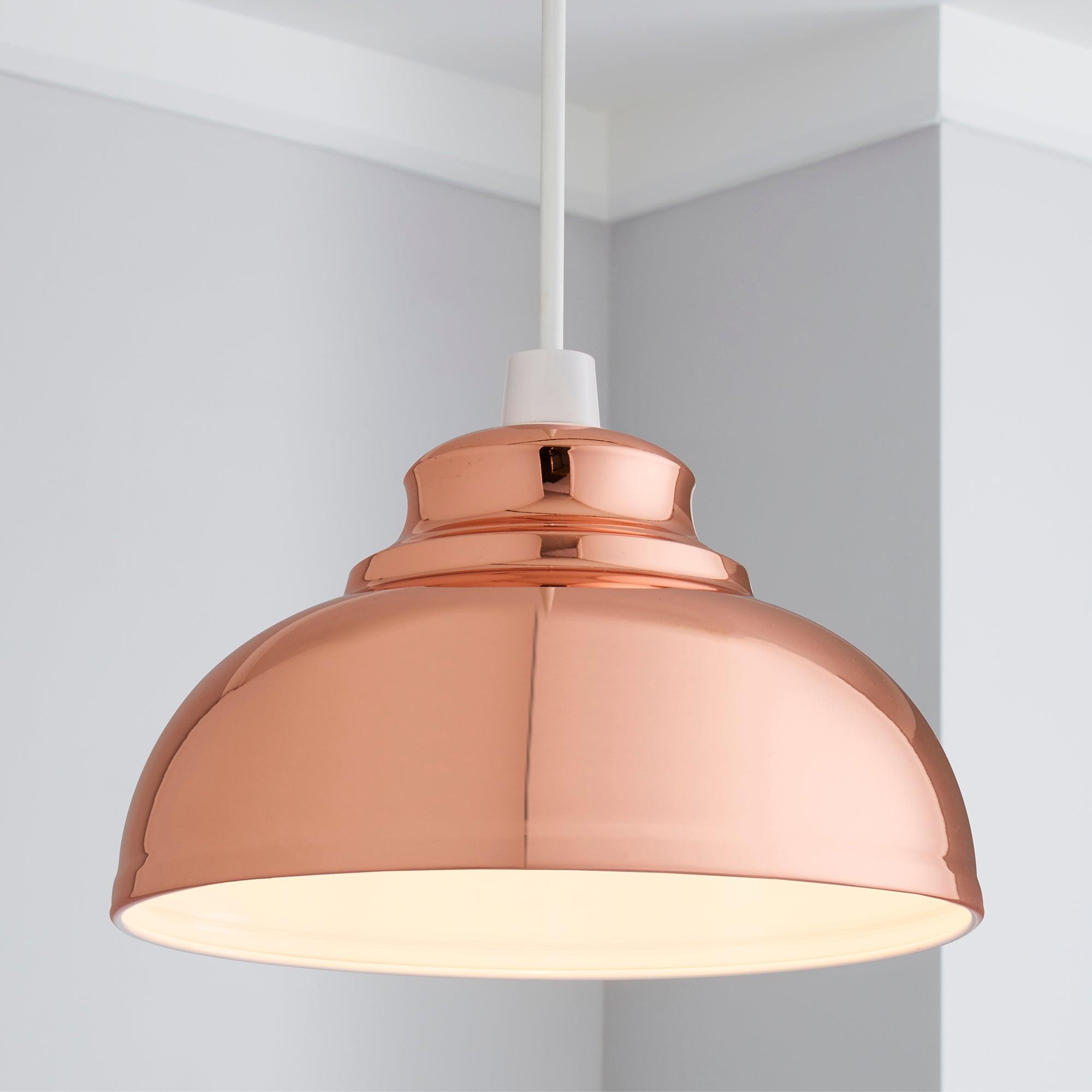 Cosy Skandi Collection Appleton Galley Copper Pendant