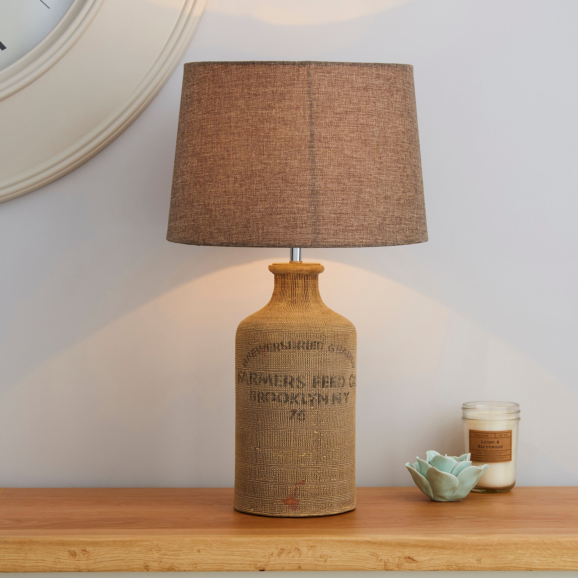 Albury Jute Sack Table Lamp