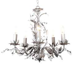 Grey Chateau 5 Light Fitting