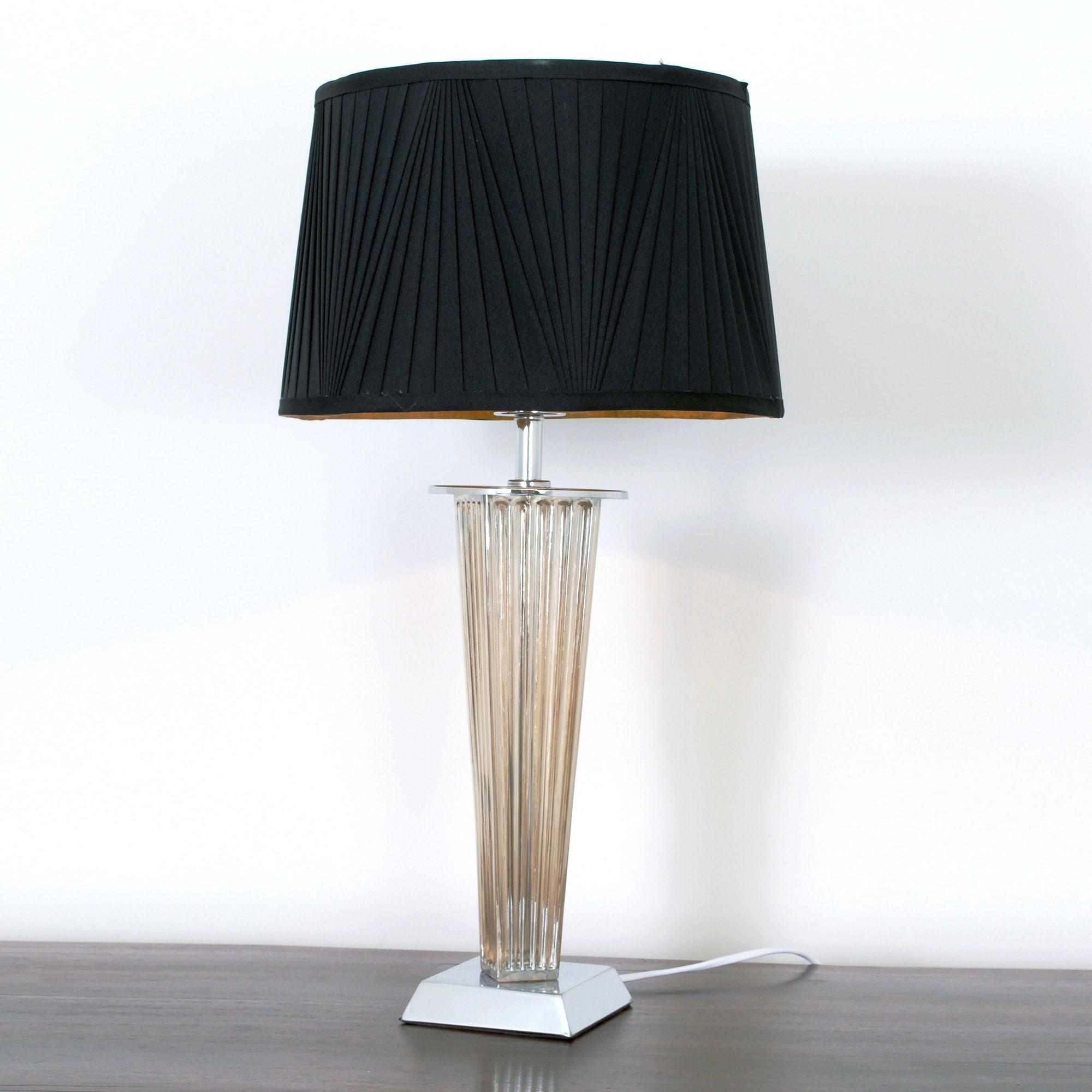 Jazz Glass Column Table Lamp