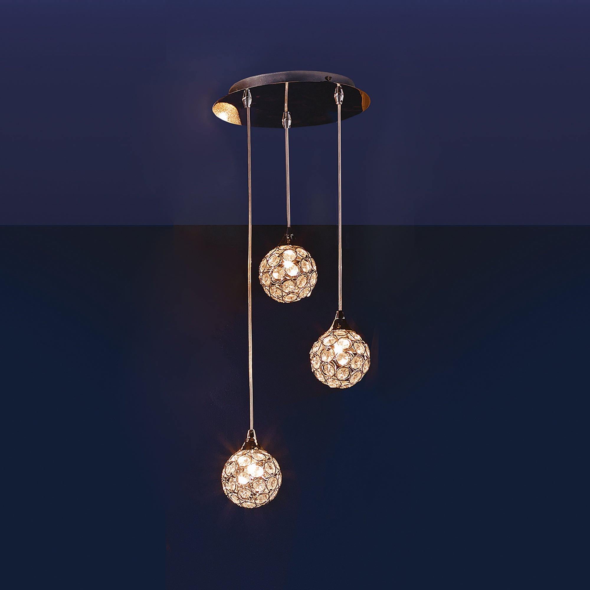 Sphere 3 Light Cluster Fitting