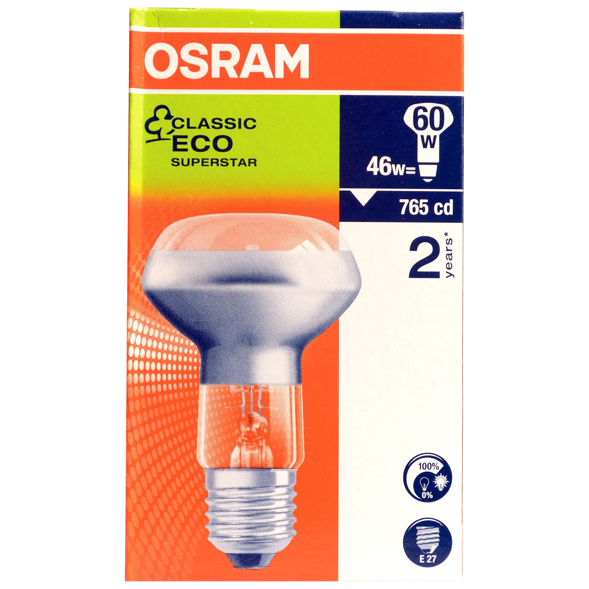 Osram Halogen Eco 46 Watt Spot Light Bulb