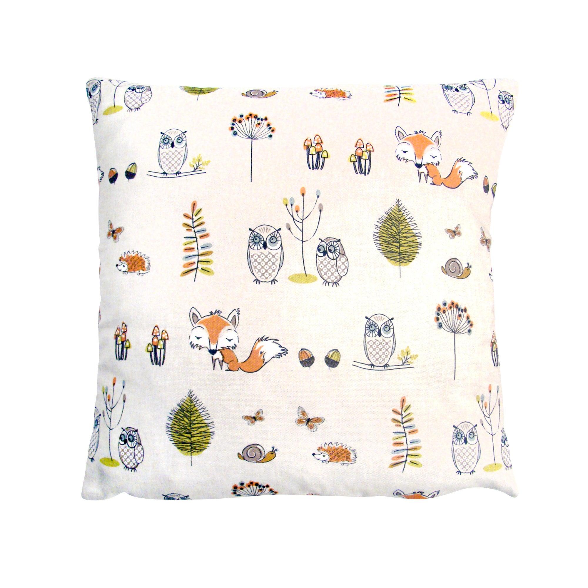 Woodland Scene Cushion Cover
