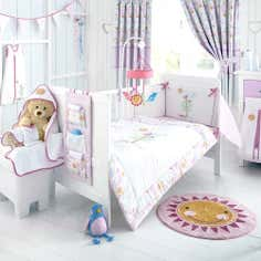 Kids Lil Birdy Collection Coverlet and Bumper