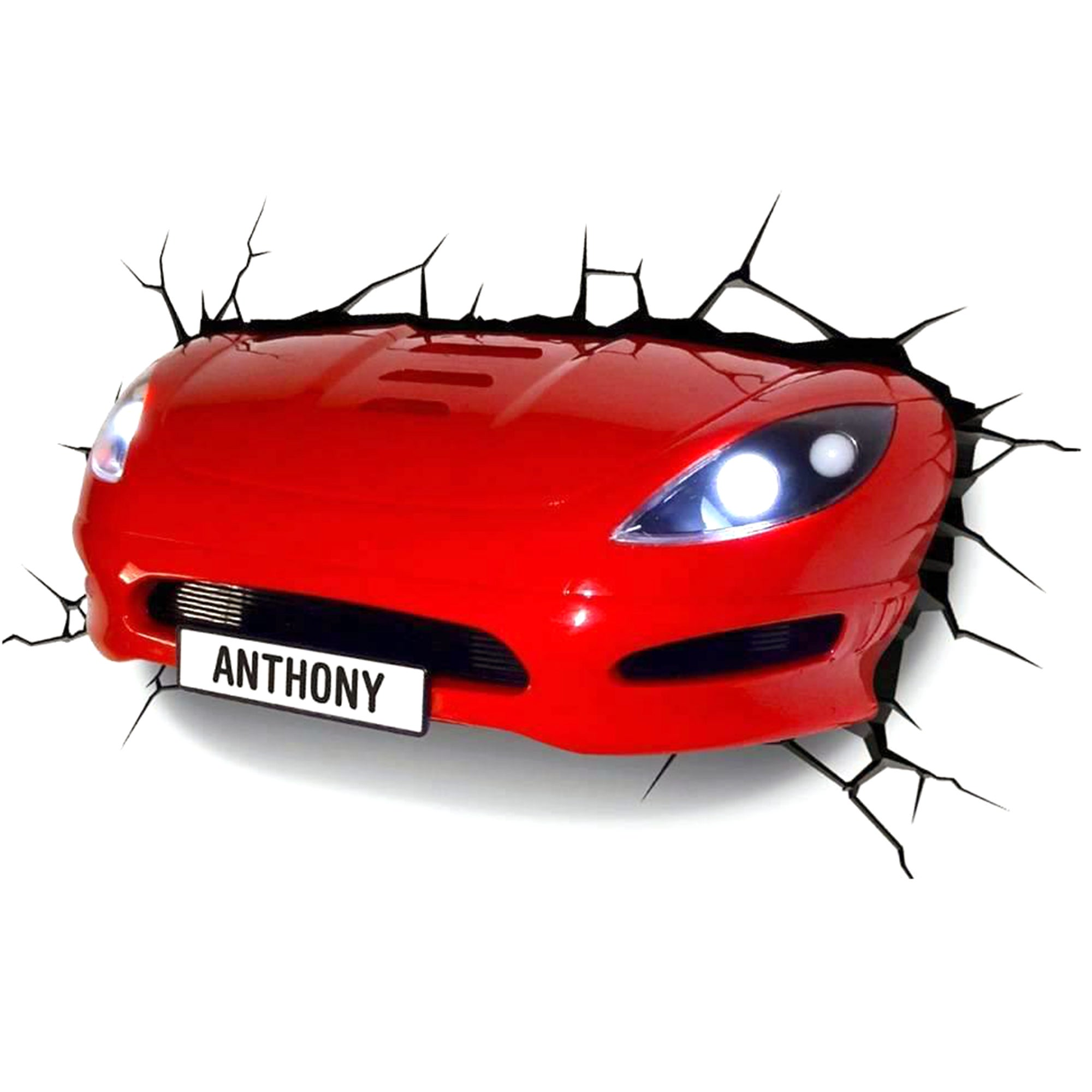 3D Sports Car Light