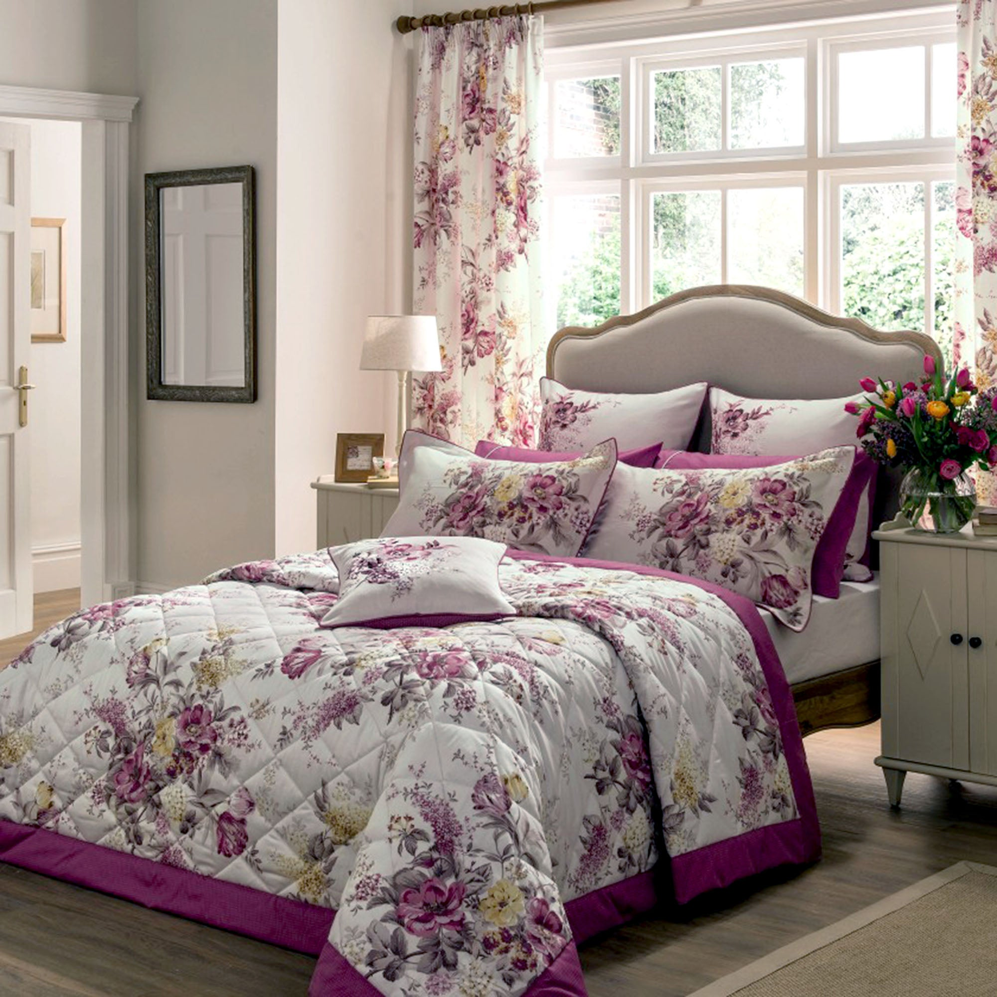 dorma pink camilla collection duvet cover dunelm. Black Bedroom Furniture Sets. Home Design Ideas