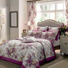 Dorma Pink Camilla Collection Duvet Cover