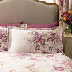 Dorma Pink Camilla Collection Oxford Pillowcase