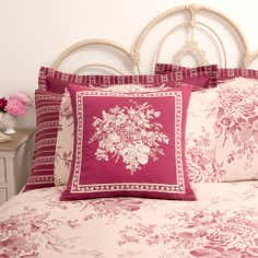 Dorma Red Willoughby Collection Cushion