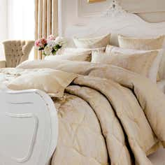 Dorma Gold Clara Collection Duvet Cover