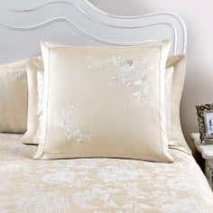 Dorma Gold Clara Continental Pillowcase