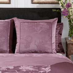 Dorma Plum Jasmina Collection Continental Pillowcase