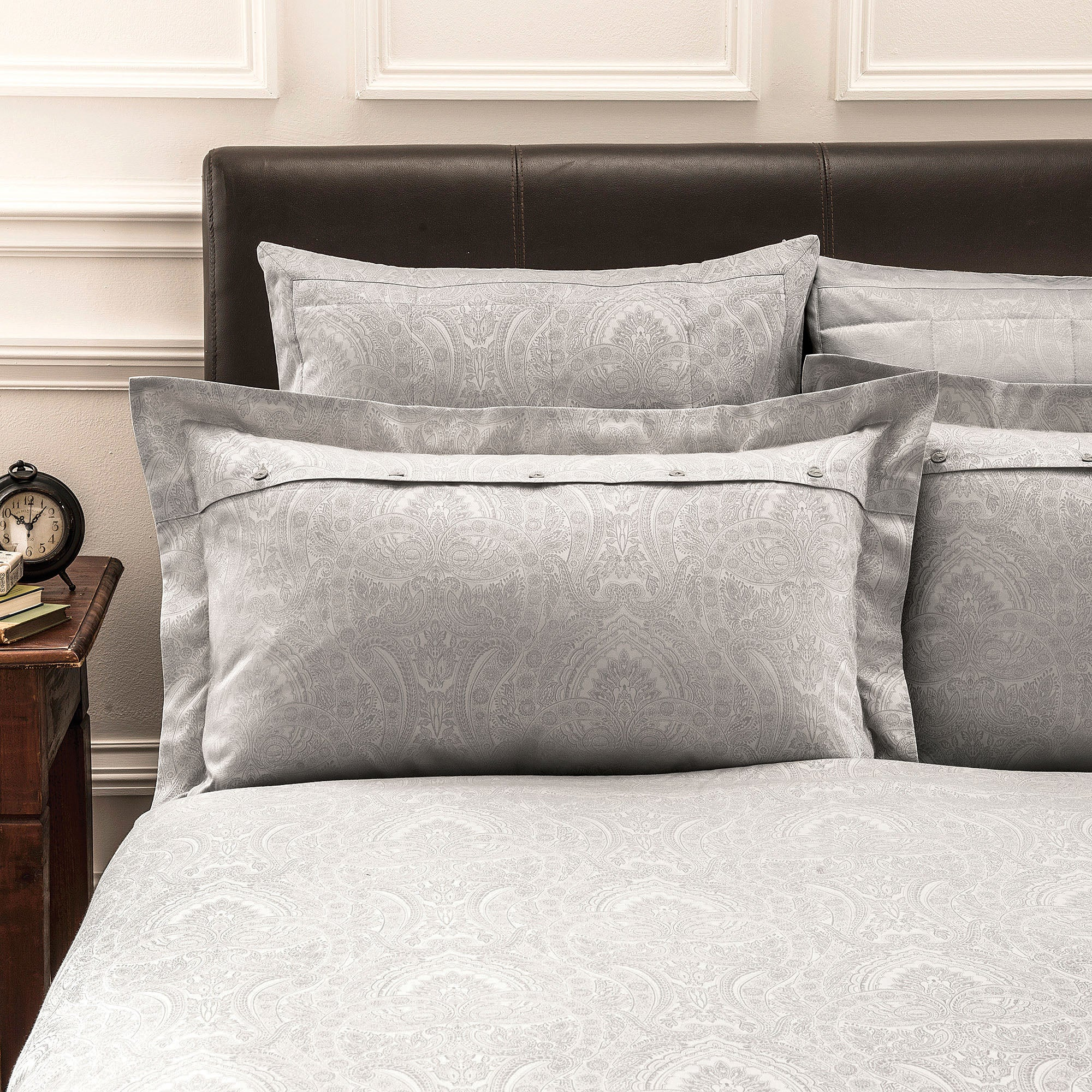 Dorma Natural Paisley Collection Oxford Pillowcase